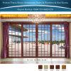 Foshan 4 painéis de alumínio Térmico-Quebra portas deslizantes da divisória decorativa