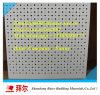 panneau perforé neuf de plafond de gypse des prix bon marché de placoplâtre de mur de pierres sèches de partition de 12mm