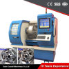 CNC van het Wiel van de legering de Machine van het Wiel van de Apparatuur van de Reparatie van de Rand van de Draaibank