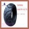 ISO-Nylon 6pr, schlauchlose, lange Lebensdauer-Motorrad-Reifen mit 130/70-12tl