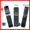 LCD LED 3D HDTV Télécommande pour Samsung, LG et Philips