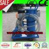 Máquina de filtração do petróleo portátil do vácuo, máquina do purificador de petróleo
