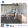 Prensa horizontal hidráulica del papel usado/máquina de embalaje de Hellobaler (HFA10-14)