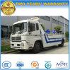 Camion de remorquage de la dépanneuse 4*2 de route de Dongfeng LHD à vendre