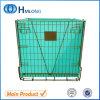 Lager-Metallzusammenklappbarer Haustier-Vorformling-Maschendraht-Behälter