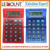 Calculadora de bolsillo transparente de 8 dígitos (LC325)