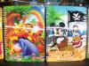 2015 vários cadernos de fatura do projeto 3D para miúdos