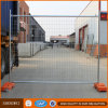 Frontière de sécurité provisoire galvanisée de construction portative