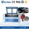 Máquina do gravador do laser do CO2 para o couro