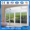 Wohnfranzösische Aluminiumtür mit Dekoration-Gitter