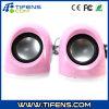 Colore rosa dell'altoparlante del USB di multimedia mini