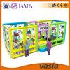 Campo de jogos plástico interno do projeto novo para crianças