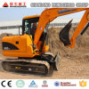 Excavatrice chaude neuve 8ton, excavatrice hydraulique de chenille de vente de la position 0.3cbm