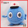 Brinquedo enchido da mascote do hospital luxuoso azul com doutor Chapéu