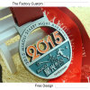 El metal ahueca hacia fuera la medalla modificada para requisitos particulares