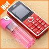 Téléphone duel bas de gamme de copie de sauvegarde de téléphone de sureau de Bluetooth d'appareil-photo de téléphone de SIM de vieil homme de téléphone de téléphone aîné