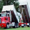 Tipo cilindros telescópicos da luva para os caminhões de Tipper feitos em China