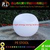 Tabouret léger en plastique du PE LED de meubles extérieurs