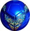 Materiale di colore TPU di gioco del calcio cucito a macchina di formato 5 multi