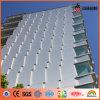 Panneau en aluminium de façade de mur externe diplômée par RoHS d'UE Feve (AF-408)