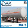 Semi-Trailer do LPG do petroleiro do transporte do combustível
