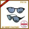 Retro schwarze Sonnenbrillen F4114