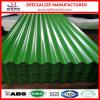 Hoja acanalada de acero del material para techos de SGCC CGCC PPGI de China