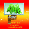 4.3 인치 480*272 RGB Interface 320nits Landscape TFT LCD Panel