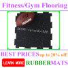 Mattonelle di pavimentazione di gomma macchiate di forma fisica di sicurezza e di ginnastica