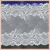 Tissus élastiques nets mous de lacet de belle conception