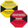 Het Etiket/de Sticker van de Veiligheid van de Sensor van het Effect van het Horloge van de schok