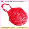 Obst- und GemüseBaumwollnetz-Einkaufen-Beutel mit Tasche nach innen