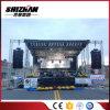 屋外コンサートのアルミニウム段階の照明トラス