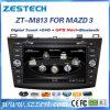 Автомобильный радиоприемник DVD Zestech 2 DIN на Mazda 3 2010-2013 систем навигации GPS