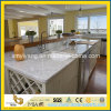 プレハブのカラーラの白い大理石の台所カウンタートップ