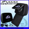 Auto-DVD-Spieler-Reißverschluss-Abdeckung der Kopflehnen-7 mit TFT LCD Monitor-Schirm, USB, Sd, Fm, IR-drahtloser Kopfhörer (H708DVC)