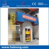 Hohe Ziegelstein-Presse-Maschine der Präzisions-Energieeinsparung-55% refraktäre Sic