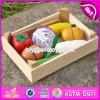 Оптовые дети претендуют плодоовощ вырезывания игрушки игры плодоовощ вырезывания игрушки Deisgn деревянного новый деревянный для малышей W10b183