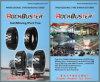 Industrielle Bergbau-Förderwagen-Reifen/Gummireifen