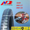 Price barato China Factory Top Quality 300-18tt Motorcycle Tyre