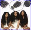 Estensione riccia dei capelli umani dei prodotti per i capelli di alta qualità