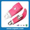 Firmenzeichen ledernen USB-Stock (SP408U) prägen
