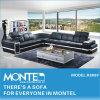 現代革角のソファーセット、ホーム家具、ソファーデザイン