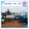Olio di sprechi del petrolio greggio all'olio diesel della base della benzina che ricicla la distilleria