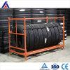 Cremalheira personalizada revestimento do armazenamento de pneu da garagem do pó