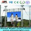 Cor P5 cheia ao ar livre que anuncia o quadro de avisos do vídeo do diodo emissor de luz