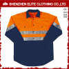De oranje Brand Beschermende Workwear van de Veiligheid Vis van de Marine hallo Weerspiegelende