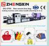 Caliente-Vender el bolso de compras no tejido de Fabrci que hace la máquina (ZXL-E700)