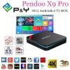 Casella 17.0 di Kodi TV del Android 6.0 di memoria 2g 16g Pendoo X9 di Amlogic S912 Kodi Octa PRO