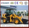 Cargador articulado 2.8ton de la rueda de Eougem Gem938 China de la alta calidad